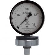 YPF-100A膜片压力表(0-1.6MPa径