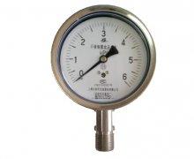 YE-100B不锈钢膜盒压力表(0-6KPa