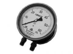 CYW-152B不锈钢差压表(0-60KPa径