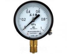 Y-100普通压力表(0-1.0MPa径向型
