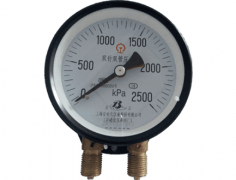 YZS-102双针双管压力表(0-2500KP