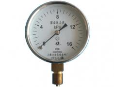 YE-75普通膜盒压力表(0-16KPa径