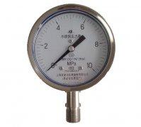 Y-150B-F全不锈钢压力表(0-10MPa径向型)