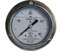 Y-153B-FZ全不锈钢耐振压力表(0-40MPa轴向型)