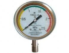 Y-100B-F全不锈钢压力表(0-2.5MPa径向型)
