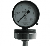 YPF-100A/150A氯气用膜片压力表