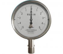 YE-150B不锈钢膜盒压力表(-5-5KPa径向型)