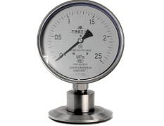 Y-100B-F/Z/MC卫生型卡箍式隔膜压力表