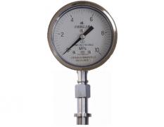 Y-100B-F/Z/MH矩形法兰式隔膜压力表