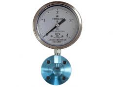 Y-150B-F/GL/MFB/316L角型不锈钢隔膜压力表
