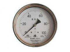 CYW-153B不锈钢差压表(0-100KPa轴向型)