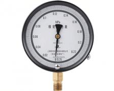 YB-150B精密压力表(0~0.25MPa径向型)