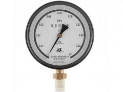 YB-150A精密压力表(0~0.1MPa径向型)