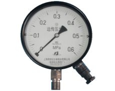 YTZ-150电阻远传压力表(0-0.6MPa径向型)
