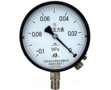 YTZ-150电阻远传压力表(-0.1-0MPa径向型)