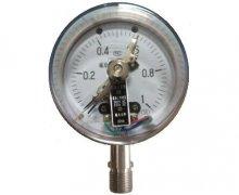 YXC-100B-F磁助式不锈钢电接点压力表(0-1MPa径向型)