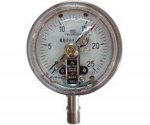 YXC-100B-FZ磁助式不锈钢耐振电接点压力表(0-25MPa