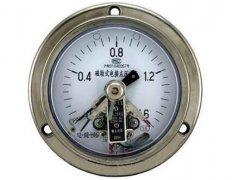 YXC-103B-F磁助式不锈钢电接点压力表(0-1.6MPa轴向