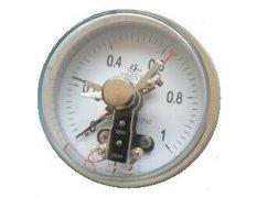 YXC-103B-F磁助式不锈钢电接点压力表(0-1MPa轴向不