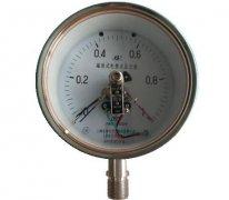 YXC-150B-F磁助式不锈钢电接点压力表(0-1MPa径向型)