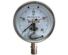 YXC-150B-F磁助式不锈钢电接点压力表(0-40MPa径向型