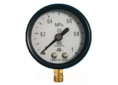 Y-40普通压力表(0-1MPa径向型)