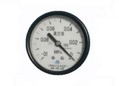 Y-60Z真空普通压力表(-0.1