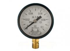 Y-60普通压力表(0-0.1MPa径向型)