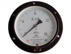 Y-150ZT普通压力表(0-16MPa轴向带边)