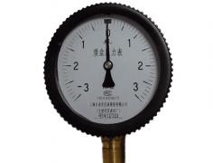 YE-100普通膜盒压力表-3-3KPa