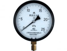 YE-100膜盒压力表0-25KPa