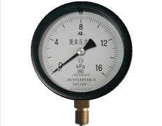 YE-150膜盒压力表0-16KPa