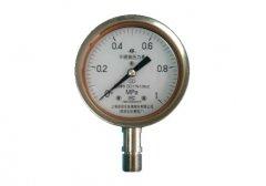 Y-100B-F全不锈钢压力表0-1.0MPa径向型