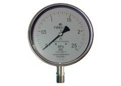 Y-150B-F全不锈钢压力表0-2.5MPa径向型