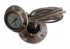 Y-63B-F/RL/MFB/316L毛细管远传不锈钢隔膜压力表
