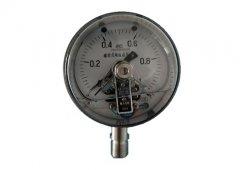 YXC-100B-FZ磁助式不锈钢耐振电接点压力表0-1MPa径