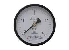 Y-100Z普通压力表0-4MPa轴