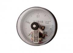 YXC-103磁助式电接点压力表-0.1-0.3MPa轴向不带边