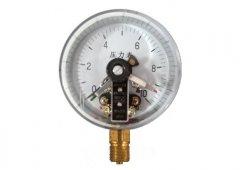 YXC-100磁助式电接点压力表0-10MPa径向型