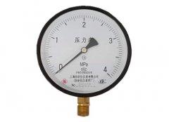 Y-150普通压力表0-4MPa径向型